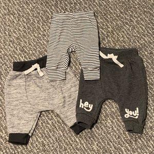 ❤️HP❤️ Sweats & Comfy Pants Bundle - Newborn